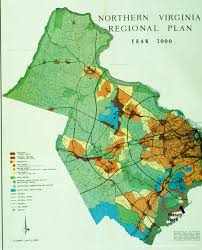 Northern Virginia Map Northern Virginia Growth Shows Poor Land Use Trend Intysons