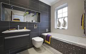 bathroom contemporary bathroom design with black bathroom tile