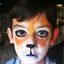Red Panda Halloween Costume Red Panda Face Painting Boy Www