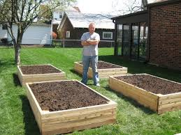 fall raised bed vegetable gardening for beginners building a