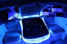 Colored Interior Car Lights Led Interior Lights Ledglow 4 Piece Single Color Led Interior