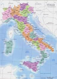 Maps Italy Italy Regions Map U2022 Mappery