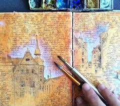 This artist 39 s dazzling travel journals will inspire your next trip