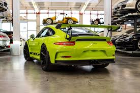 porsche gt3 rs 2016 the exclusive 2016 porsche 911 gt3 rs painted in birch green is