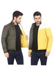 winter biker jacket basics winter wear dusty olive reversible polyfill biker jacket