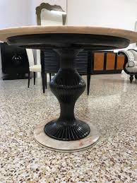 italian pedestal dining table by osvaldo borsani 1950s for sale