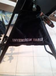 stamina products inversion table stamina inversion table good condition in cupar fife gumtree