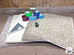 How To Make A Area Rug How To Make Carpet Sle Area Rug On A Budget Of Diy
