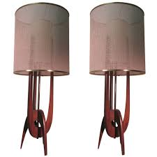1950 Modern Furniture by Pair Of Mid Century Modern Adrian Pearsall Table Lamps Adrian