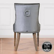 gray velvet dining room chairs grey ebay dark crushed chair covers