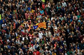 for e u catalonia pits democratic rights against sovereignty