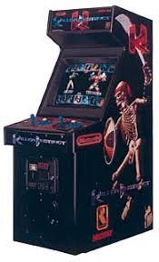 killer instinct arcade cabinet killer instinct videogame by midway games