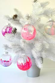 make marbled ornaments meri cherry