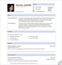 Template For Resume Clear Concise Organized Resumes Pinterest Interiors And