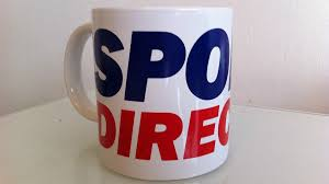 who bought all the sports direct mugs in the kitchen