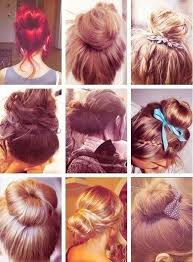 different hair buns different type of bun hair is our crown