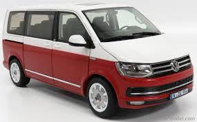 volkswagen multivan 2017 nzg 9541 10 scale 1 18 volkswagen t6 multivan highline minibus