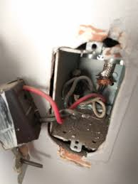replacing light switch 2 black wires electrical changing old light switch 2 black wires and 1 red
