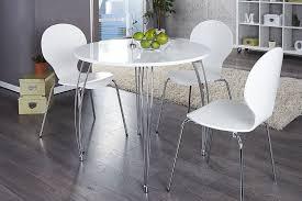 table de cuisine ronde blanche table blanche de cuisine table cuisine châtellerault