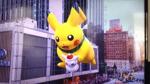 macy s thanksgiving day parade 2016 pikachu balloon