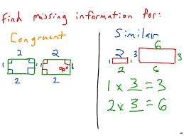 6 9 congruence and similarity math geometry shapes congruency