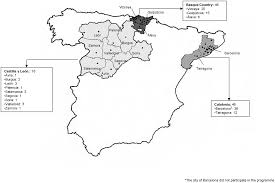 Tarragona Spain Map by Widening The Access To Hiv Testing The Contribution Of Three In