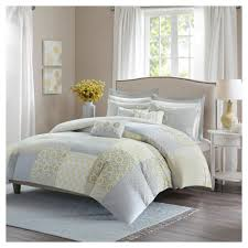 Cal King Duvet Cover Evelyn Cotton Duvet Cover Set California King 9pc Products