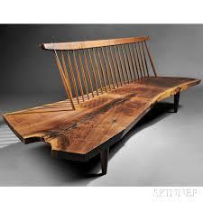 Modern Design Furniture George Nakashima 1905 1990 Conoid Bench Furniture Pinterest