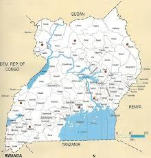 Uganda Africa Map by Detailed Map Of Uganda Uganda Detailed Map Vidiani Com Maps