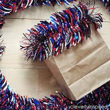 Bag Vase Paper Bag Vase Patriotic Decor Cleverly Inspired