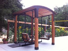 Swing Pergola by Gazebo Swing