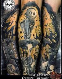 image result for nightmare before sleeve