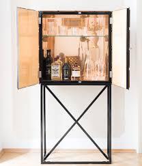 Mirrored Bar Cabinet Art Deco Bar Cabinet