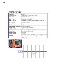 Atlanta International Airport Map Appendix B Inventory Of Airport Apm Systems Guidebook For
