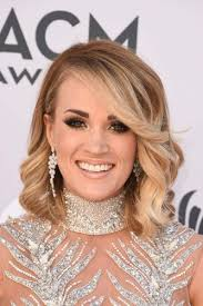 curly lob hairstyle 8 carrie underwood bob hairstyles chic bob haircuts you will envy