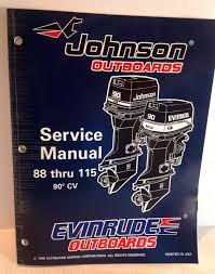 johnson evinrude outboards omc ed 90 cv 88 115 service manual
