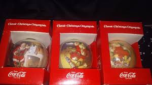 Coca Cola Christmas Ornaments - vintage coca cola christmas ornaments set of 3 great condition