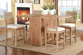 pub table and chairs with storage table with chair storage folding dining table with chair storage