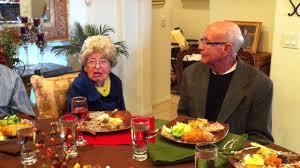 saying the prayer at thanksgiving dinner nov