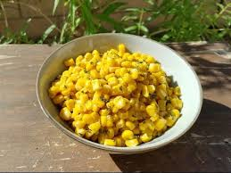 thanksgiving side dish recipe sauteed butter corn with parsley