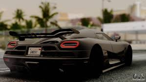 koenigsegg ghost one 1 koenigsegg agera r for gta san andreas