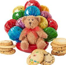 teddy gram delivery cookie bouquets teddy cookie bouquet