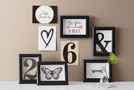 wood frame wall decor picture frames wall ikea