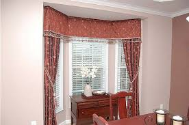 adorable glamour curtains bay window interior design glugu modern yellow wall inside the curtains bay window that has red seat can add the beauty inside the modern house design ideas that seems great