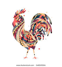 rooster vector stock images royalty free images vectors