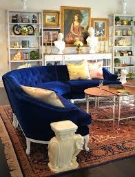 blue velvet sofa uk crushing on navy sofas living rooms room and