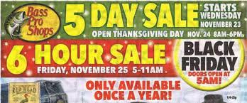 bass pro shops black friday deals ad scan the gazette review
