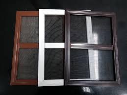 custom made aluminium windows mosquito net windows doors in aluminium frame ss net chennai