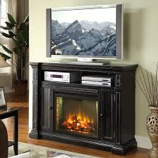 Tv Stand With Fireplace Furniture Alluring Black Tv Stand With Fireplace For Different