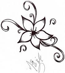 Draw A Flower Vase Coloring Page Cute How Todraw A Flower To Draw Flowers Drawing